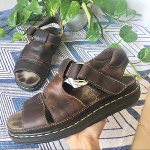 DR. MARTENS Vintage Leather Fisherman Sandal 11